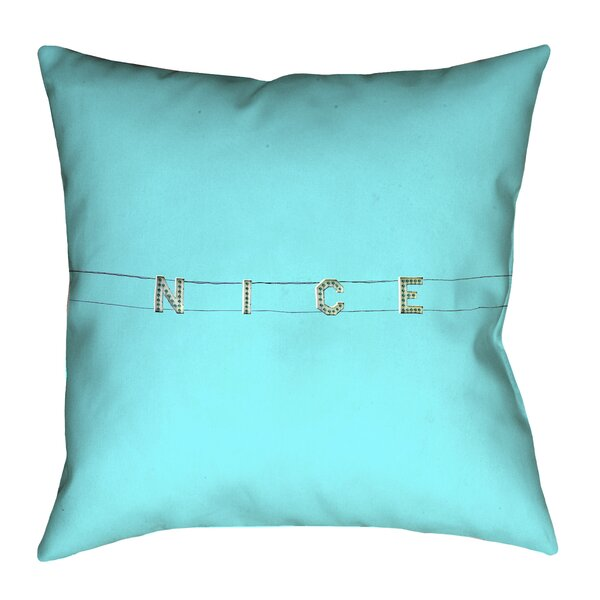 Hansard Nice 100% Cotton Pillow Cover by Latitude Run